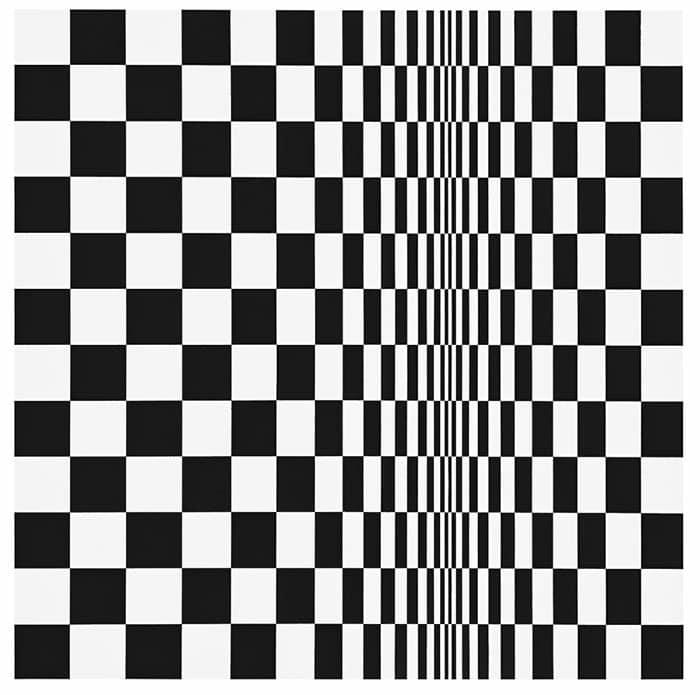 Движение в квадратах (1961) - Бриджит Райли