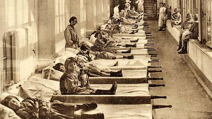 Эпидемия чумы, 1920 год COVID-19