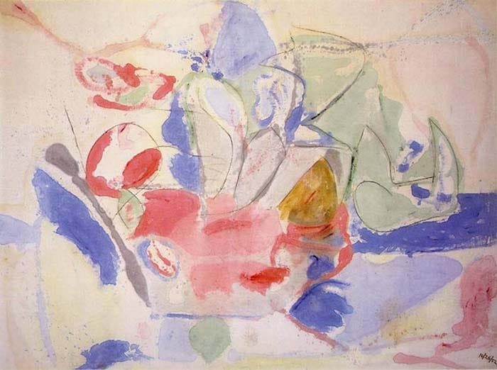 Горы и море (1952) - Хелен Франкенталер