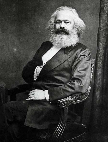 Карл Маркс - самый влиятельный социалистический мыслитель промышленная революция