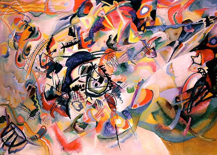 Композиция VII (1913) - Василий Кандинский абстракционизм