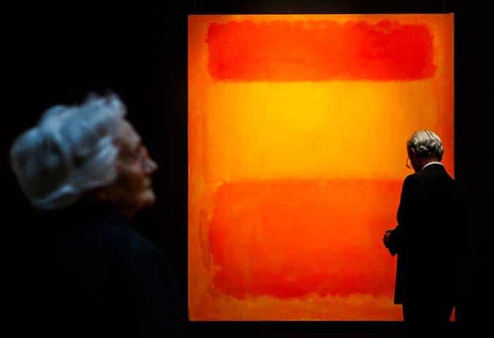 Оранжевое, красное, желтое (1961), Марк Ротко