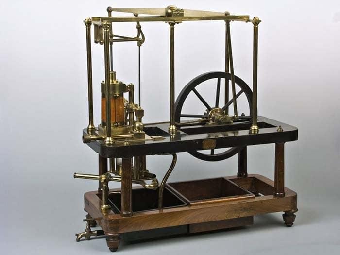 Паровая машина Дж. Уатта промышленная революция