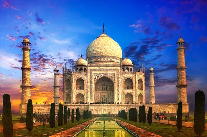Храм Тадж Махал, Индия