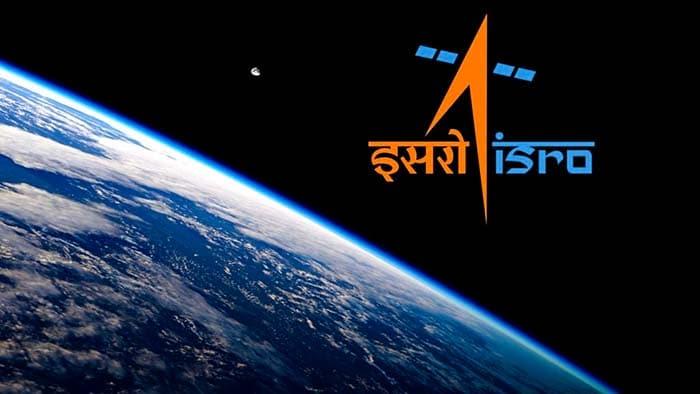 Логотип Индийской организации космических исследований ИСРО