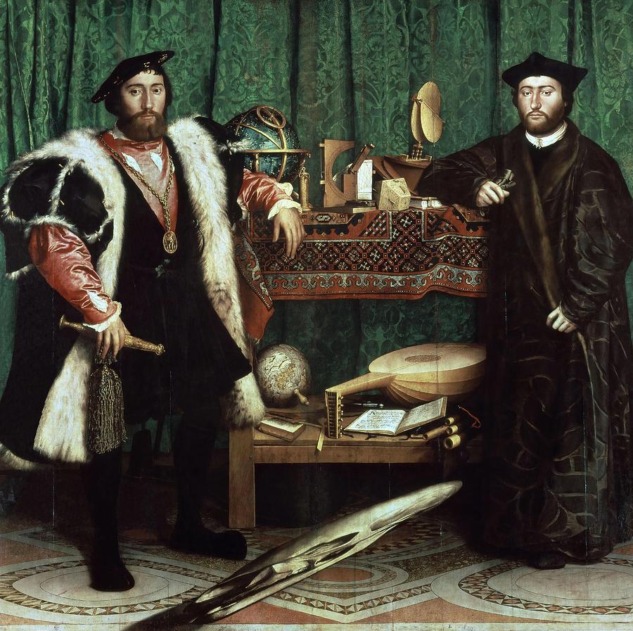 Послы (1533) - Ганс Гольбейн Младший национальная галерея