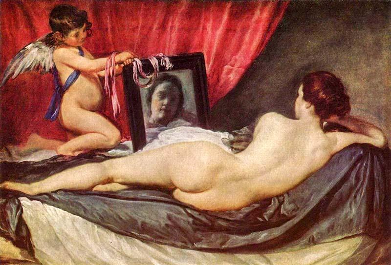 Рокби-Венера (1650) - Диего Веласкес