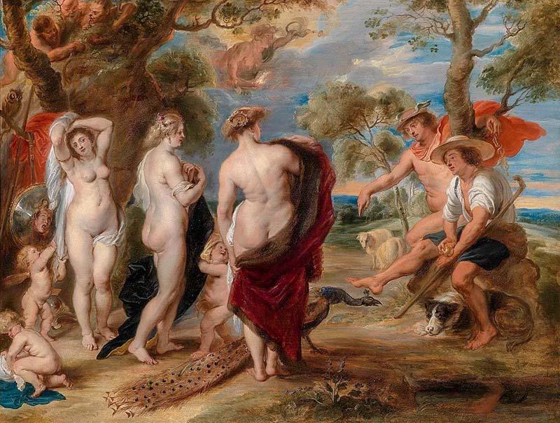 Суд Парижа (1636) - Питер Пауль Рубенс