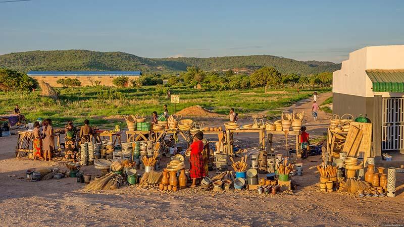 Замбия страны