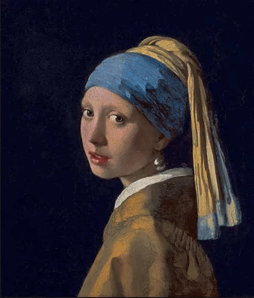 Девушка с жемчужной сережкой (1665) - Иоганн Вермеер