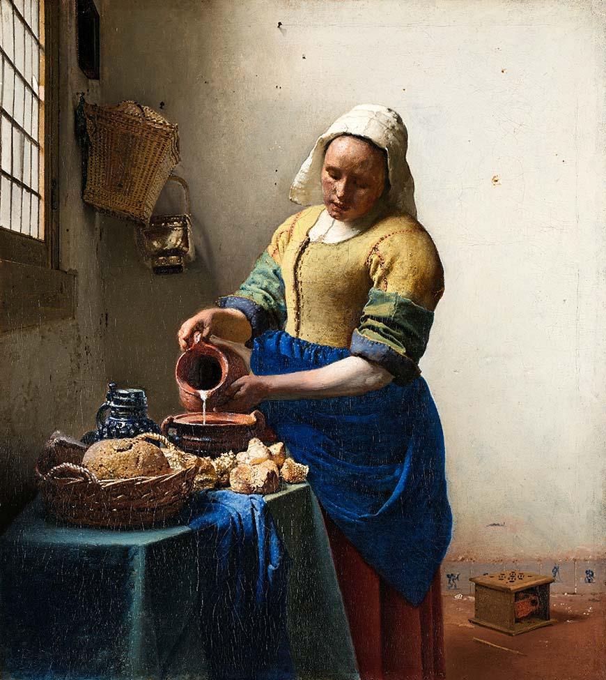 Доярка (1658) - Иоганн Вермеер Барокко