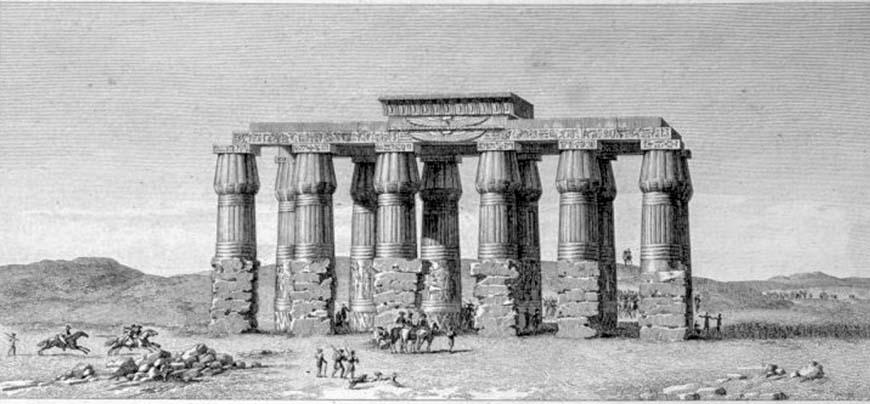Храм Тота в Гермополисе