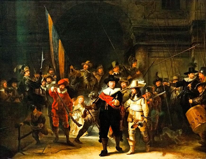Ночной дозор (1642) - Рембрандт барокко