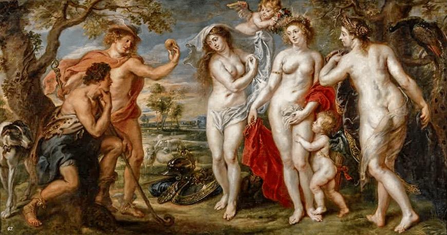 Суд Парижа (1639) - Питер Пауль Рубенс Барокко