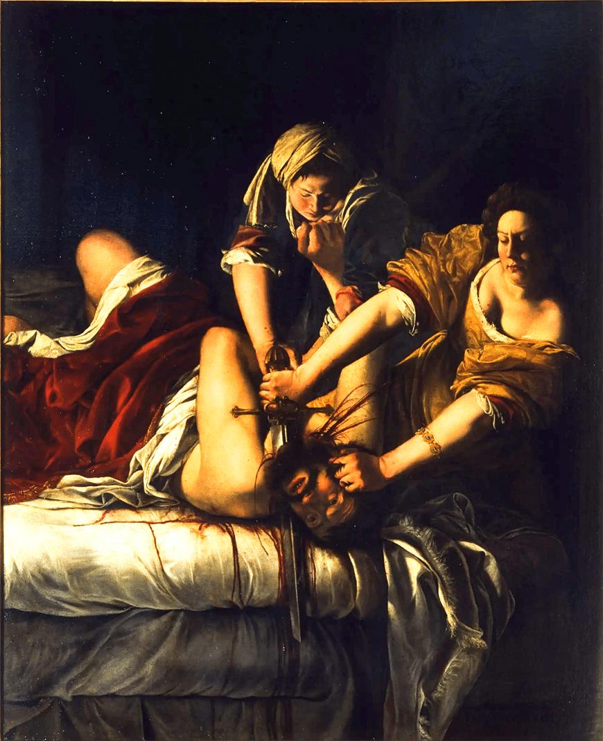 Юдифь убивает Олоферна (1620 )