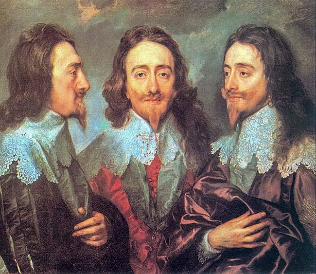 Карл I в трех позициях (1636 )