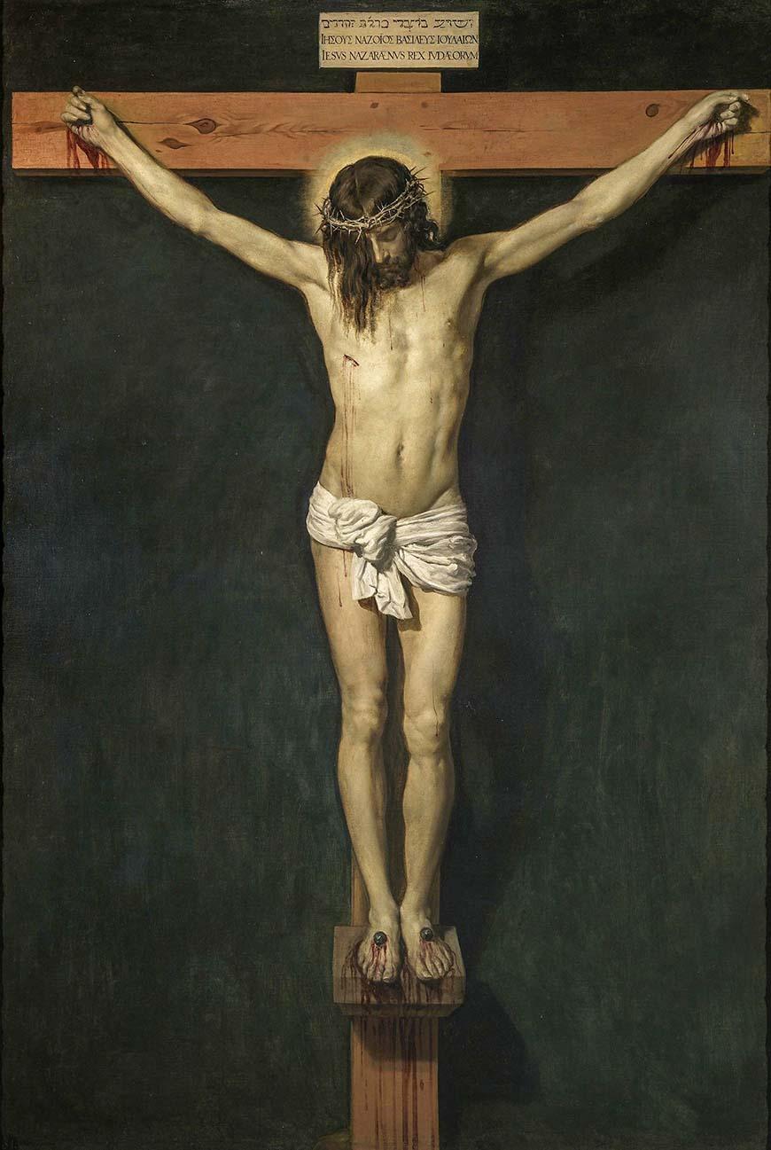 Распятый Христос, Диего Веласкес иисус христос