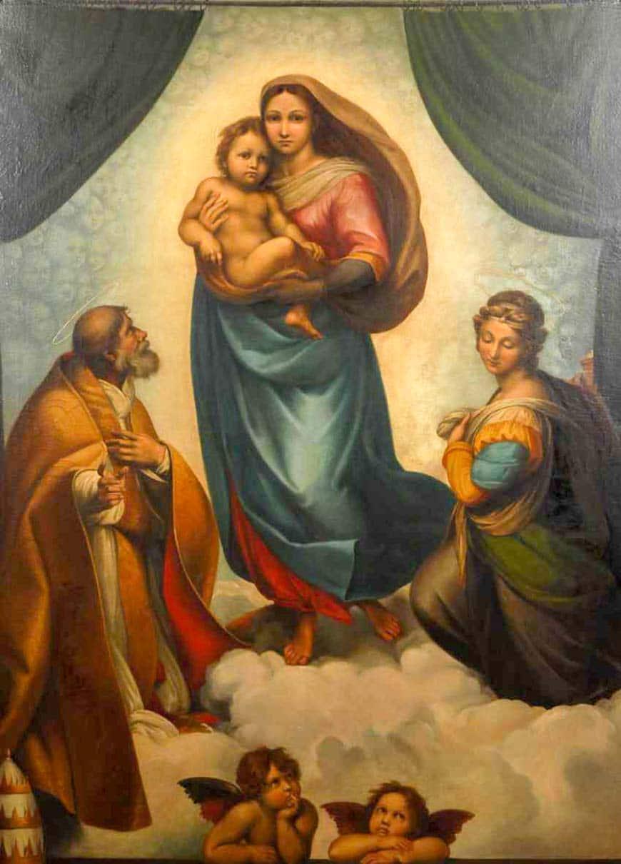 Сикстинская Мадонна (1512) - Рафаэль