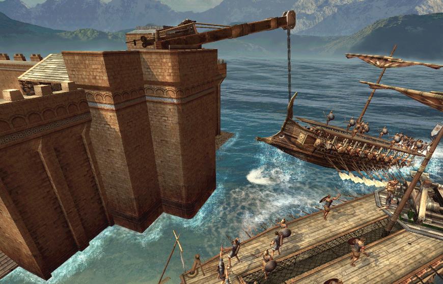 Коготь Архимеда древние греки