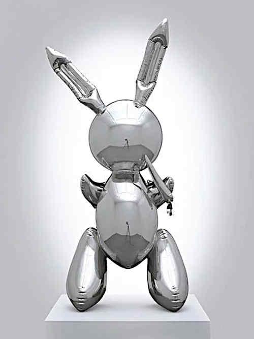 Кролик (1986) - Джефф Кунс Современное искусство