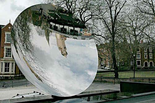 Небесное зеркало, Ноттингем (2001) - Аниш Капур