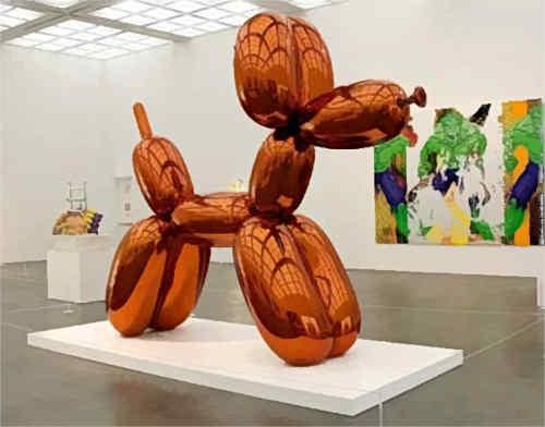 Оранжевый воздушный шар (2000) - Джефф Кунс Современное искусство