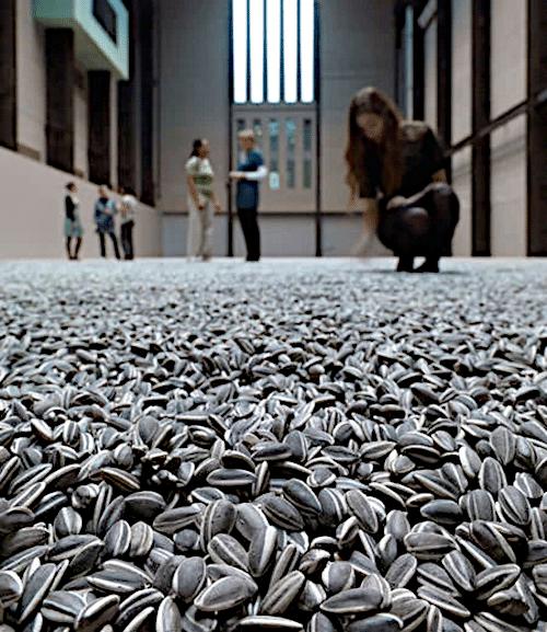 Семечки подсолнуха (2008) - Ай Вэйвэй Современное искусство